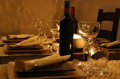 Italian Dinner Table