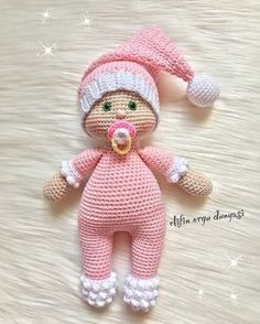"499 Likes, 6 Comments - Daily doll pics 2 inspire you (@1000crochetdolls) on Instagram: ""Handmade by @elifin_orgu_dunyasi """
