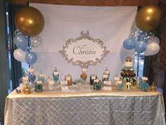 Candy Table for Christening (Private Parties)