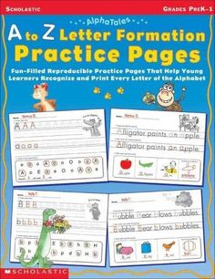 Ready-to-go practice pages ensure that kids get lots of practice with each letter of the alphabet ? all with the help of friendly AlphaTales creatures! Introduce and reinforce each letters upper- and