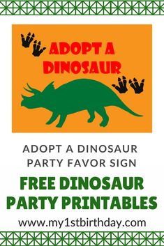 Are You Planning A Dinosaur Themed Birthday Party Then Head On Over For The Best