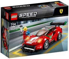 """LEGO Speed Champions Ferrari 488 """"Scuderia Corsa"""" 2018 for sale online Lego Cars, Lego Auto, Rc Cars, Ferrari 488 Gtb, Porsche Rsr, 1968 Ford Mustang Fastback, Corso, Lego Speed Champions, Camaro Zl1"""
