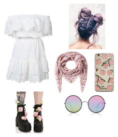 """""""Untitled #11"""" by alieshacraythorn on Polyvore featuring Sunday Somewhere, Alexander McQueen, LoveShackFancy and Sugarbaby"""