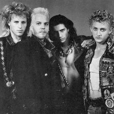 THEY ARE AMAAZZZIIINNNGGGGG!!!!!! They are some of my favorite 80's crushes, and they caused my love for vampires!!