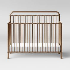 Million Dollar Baby Classic Winston Convertible Crib - Vintage Gold : Target Vintage Iron, Vintage Silver, Million Dollar Rooms, Cool Minecraft Houses, Minecraft Skins, Minecraft Buildings, 4 In 1 Crib, Crazy Houses, Accent Wall Bedroom