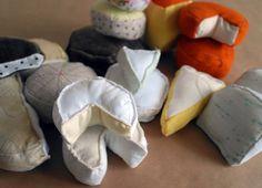 Käse aus filz nähen