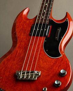 Bass Player Magazineさん(@bassplayermag)のInstagramアカウント: 「A pristine 1962 Gibson EB-0 Bass. @gibsonguitar @thegibsonbassbook #bassgram #instabass #bassporn…」