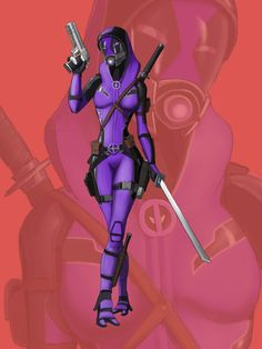 Tali - Deadpool by spaceMAXmarine