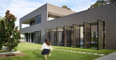 Decorative Laser Cut Screens Are Displayed Throughout This Australian House | CONTEMPORIST