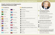 Apoyo de países, barrera para aplicar la Carta Democrática en Venezuela