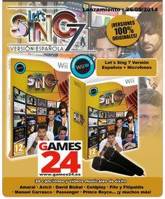 Games24: Let's Sing 7 y La Voz volumen 2