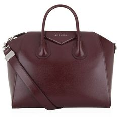 Givenchy Medium Antigona Tote (121.105 RUB) ❤ liked on Polyvore featuring bags, handbags, tote bags, tote handbags, givenchy handbags, brown tote, structured tote and givenchy purse