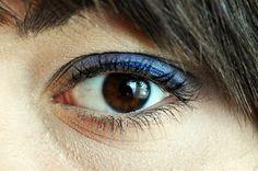 #makeup #me #girl #polishgirl #eye #blue #bluemakeup