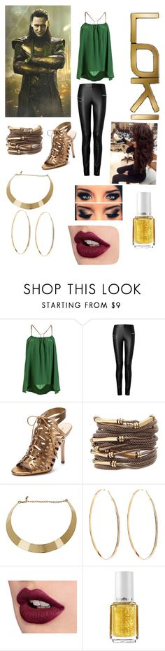 """Loki"" by charmed127 ❤ liked on Polyvore featuring Georgie, Joseph, Pour La Victoire, Dorothy Perkins, Lana and Essie"