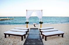 beach weddings ♥