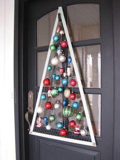 Christmas Ornament Door Hanger - DIY project
