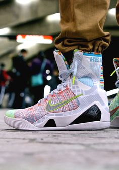 "best website cb18b ff0b3 Nike Kobe IX High Premium ""What The Kobe"""