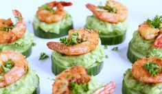 Shrimps Avocado Happen (Food with Love – Thermomix Rezepte m.- Shrimps Avocado Happen (Food with Love – Thermomix Rezepte mit Herz) Shrimps Avocado Happen Appetizers For A Crowd, Seafood Appetizers, Seafood Salad, Seafood Dinner, Cheese Appetizers, Party Appetizers, Shrimp Recipes, Soup Recipes, Salad Recipes