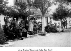 New Zealand Sisters at Suda Bay, Crete Battle Of Crete, Maori People, Lest We Forget, Old Maps, Ansel Adams, Military History, Good Night Sleep, Ww2, World War