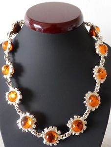 Lovely Biche de Bere necklace, with wonderful silvertone and orange sun like design Fashion Necklace, Jewelry Design, Pendants, Pendant Necklace, Sun, Fashion Outfits, Orange, My Favorite Things, Fashion Design