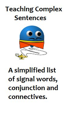 Teaching adverbial clauses? – this link provides a simple list of ...