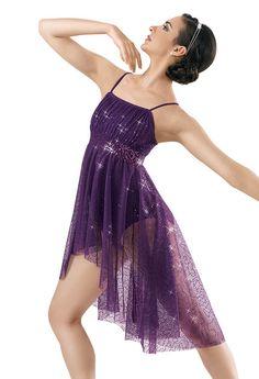 Sequin Mesh Camisole Dress; Weissman Costumes