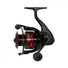 Carrete Cinnetic Crafty Black 4000 HSG F, especial para spinning.