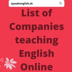 English Grammar Online, Teaching English Online, English Course