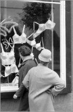 Dresden DDR - Schaufensterbummel 1962