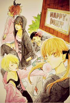 Anime, Tonari no Kaibutsu-kun, Mizutani Shizuku, Yoshida Haru, Natsume Asako, Sasahara Sohei, Yamaguchi Kenji
