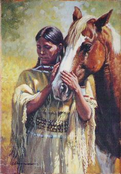native american imagery and art | Western and Native American Art by Steven Lang