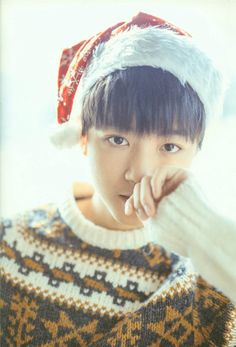 Christmas Karry , is real handsome, the eyes is too big!#wangjunkai #karrywang #王俊凯 #TFBOYS王俊凯 #Christmas