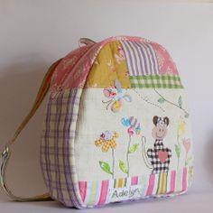 Backpack monkey applique1