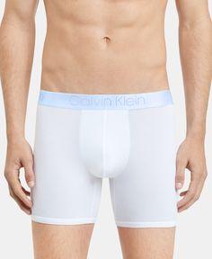 Calvin Klein Men's Ultra-soft Modal Boxer Briefs - White W/ Monument Logo Pajama Romper, Daytime Dresses, Plus Size Activewear, Calvin Klein Men, Dresses With Leggings, Boxer Briefs, Baby Girl Newborn, Trendy Plus Size, Baby Clothes Shops