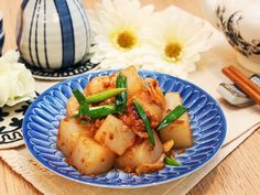 Chilled spicy konjac