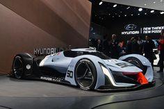 Hyundai N 2025 VGT Concept сбоку