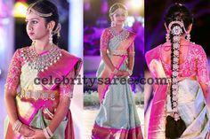 Swethareddy Daughter Swathi Reddy Half Saree Function