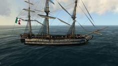 """""""Congreso Mexicano"""", Navío de línea mexicano de 74 cañones. Canon, Mexican Army, Sailing Ships, Boat, War, Ship Of The Line, Mexican, Dinghy, Cannon"""
