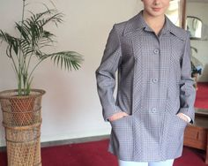 Vintage 1970s Jacket Coat Made by Debenhams at TinCupVintage, £14.00