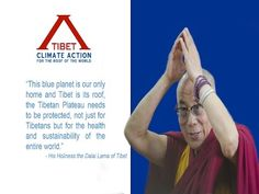 Dalai Lama says strong action on climate change is a human responsibility