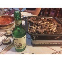 . . 韓国料理美味しい😋🇰🇷 Me gusta la comida coreana . . #photography#photo#foto#camera#camara#comida#food#corea#korea#kimuchi#megusta#carne#instagood#韓国料理#韓国#肉#キムチ#ソジュ#写真#写真好き