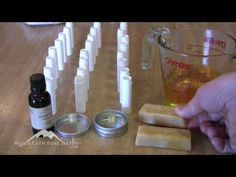 This video will walk you through the process of making lip balm with the infused essential oil of your choice.  The video was done a while ago but the steps remain the same :)  Shared by www.facebook.com/HerbsAndOilsHub