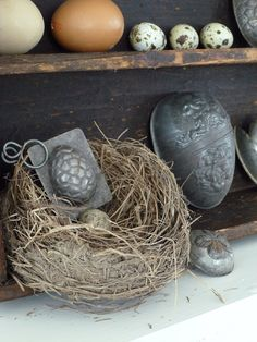 antique Easter egg molds