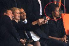 Il selfie Cameron-Obama-Schmidt.
