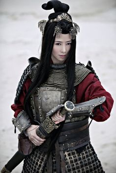 Hao Jiji - Armored Women -- Lady Knights, Warriors, and Badasses