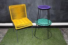 sillas tejidas de plastico - Buscar con Google