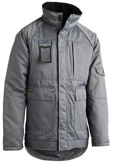 Pile lined jacket and collar Raglan sleeves Water repellent finish Two breast pockets with zip Sleeve pocket with flap Inside pocket Roomy side pockets Sturdy z