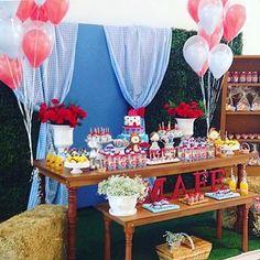 Uma graça essa festa Mágico de Oz, adorei! Decoração por @salies_gifts