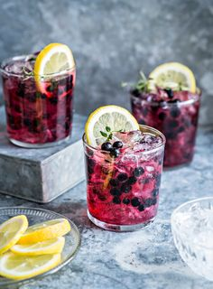 Mustikkajuoma | K-Ruoka Christmas Drinks, Yummy Drinks, Deli, Food Inspiration, Acai Bowl, Smoothies, Food Photography, Food And Drink, Dishes