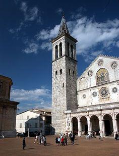 Santa Maria dell'Assunta in Spoleto, Umbria, Italy